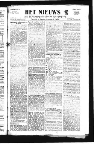 Schoonhovensche Courant 1945-07-02