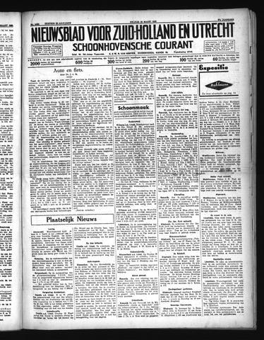 Schoonhovensche Courant 1935-03-22
