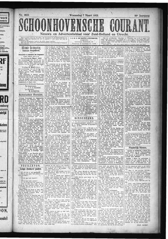Schoonhovensche Courant 1923-03-07