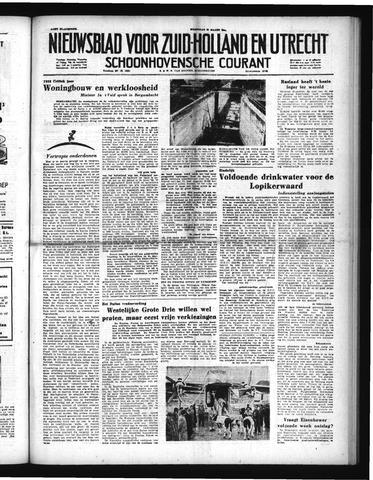 Schoonhovensche Courant 1952-03-26