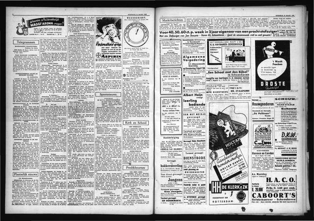 Schoonhovensche Courant 1938-03-23