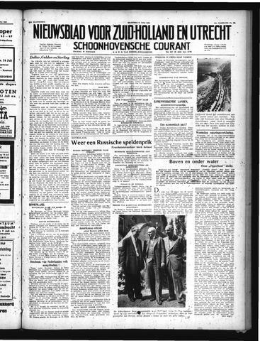 Schoonhovensche Courant 1949-07-11