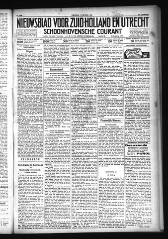 Schoonhovensche Courant 1929-10-16