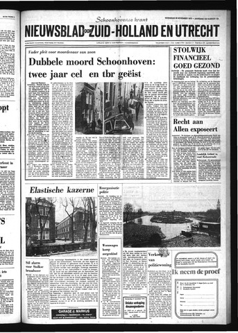 Schoonhovensche Courant 1975-11-26