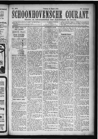 Schoonhovensche Courant 1923-03-16