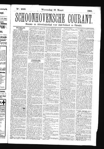 Schoonhovensche Courant 1905-03-29