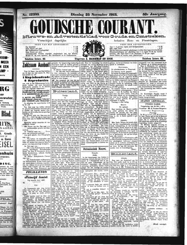 Goudsche Courant 1913-11-25