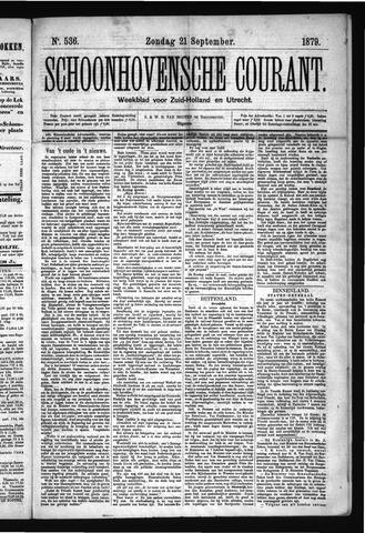 Schoonhovensche Courant 1879-09-21