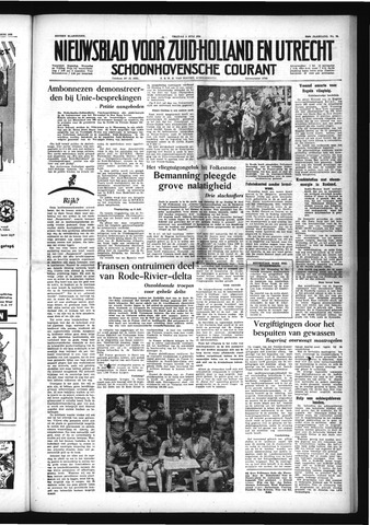Schoonhovensche Courant 1954-07-02