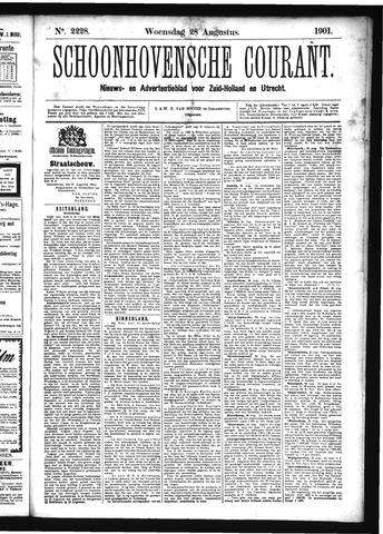Schoonhovensche Courant 1901-08-28