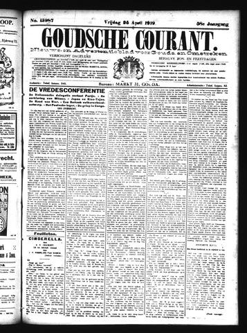 Goudsche Courant 1919-04-25
