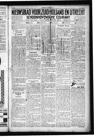 Schoonhovensche Courant 1930-10-22
