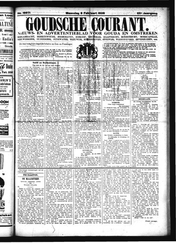 Goudsche Courant 1926-02-08