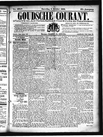 Goudsche Courant 1918-10-05