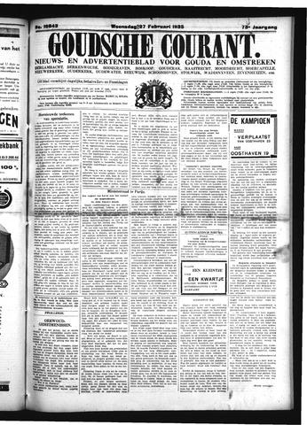Goudsche Courant 1935-02-27