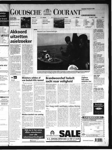 Goudsche Courant 2004-01-10