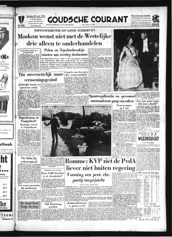 Goudsche Courant 1958-04-28