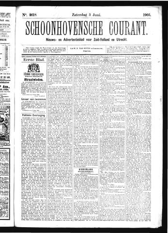 Schoonhovensche Courant 1905-06-03