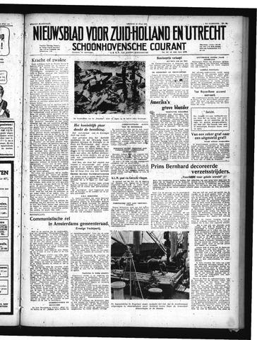 Schoonhovensche Courant 1949-07-15
