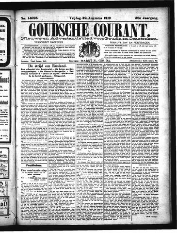 Goudsche Courant 1919-08-29