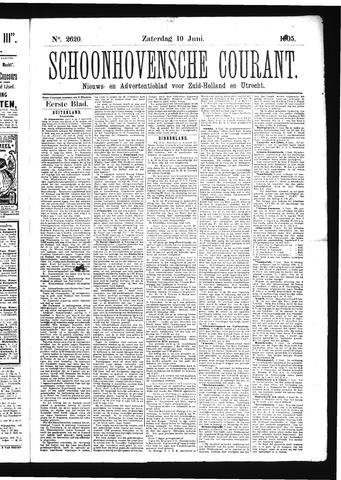 Schoonhovensche Courant 1905-06-10