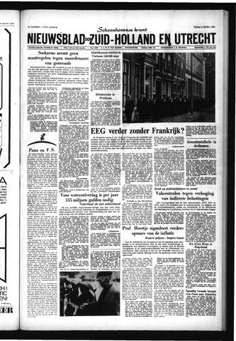 Schoonhovensche Courant 1965-10-08
