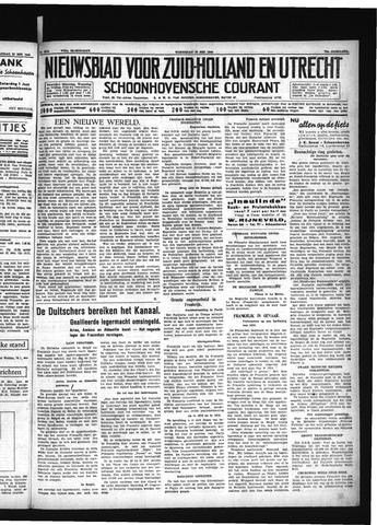 Schoonhovensche Courant 1940-05-22
