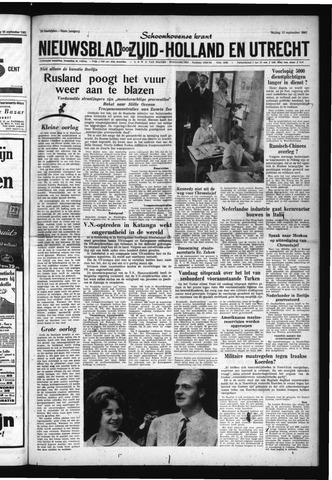 Schoonhovensche Courant 1961-09-15