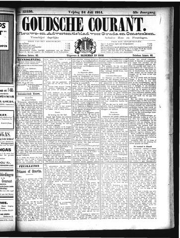Goudsche Courant 1914-07-24