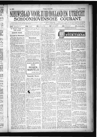 Schoonhovensche Courant 1929-06-07