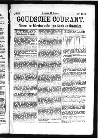Goudsche Courant 1875-01-13