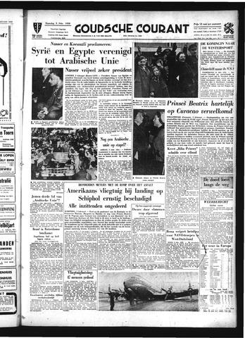 Goudsche Courant 1958-02-03