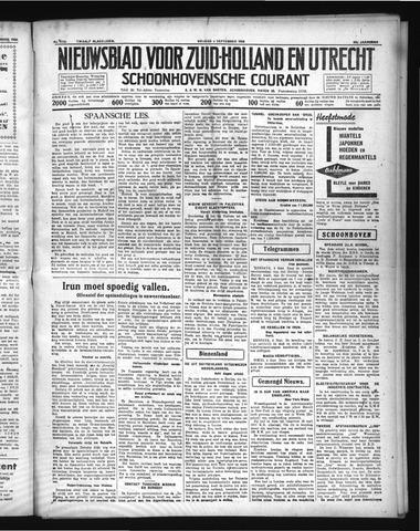 Schoonhovensche Courant 1936-09-04