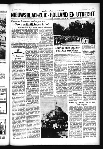 Schoonhovensche Courant 1965-08-18
