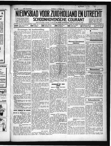 Schoonhovensche Courant 1938-08-01