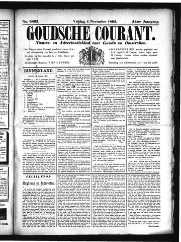 Goudsche Courant 1895-11-01