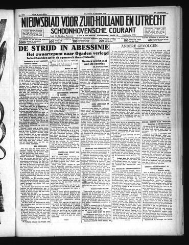 Schoonhovensche Courant 1935-10-14
