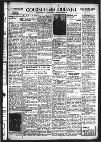 Goudsche Courant 1944-02-19