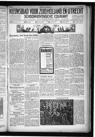 Schoonhovensche Courant 1931-12-24