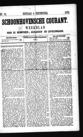 Schoonhovensche Courant 1870-12-04
