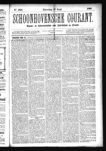Schoonhovensche Courant 1896-06-27
