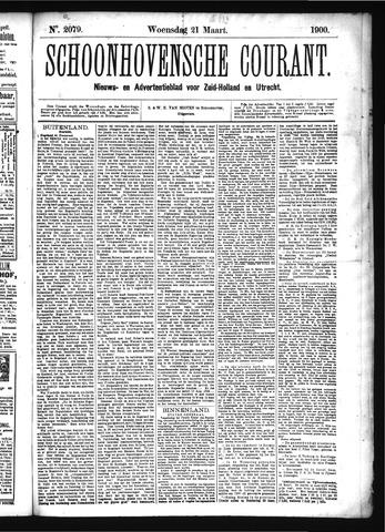 Schoonhovensche Courant 1900-03-21
