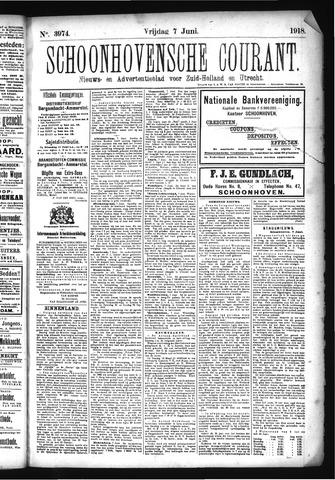 Schoonhovensche Courant 1918-06-07