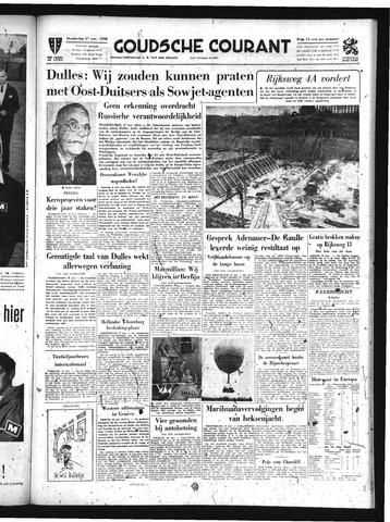 Goudsche Courant 1958-11-27
