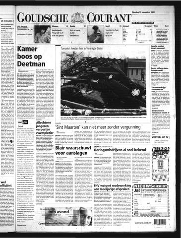 Goudsche Courant 2002-11-12