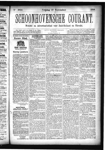 Schoonhovensche Courant 1916-11-17