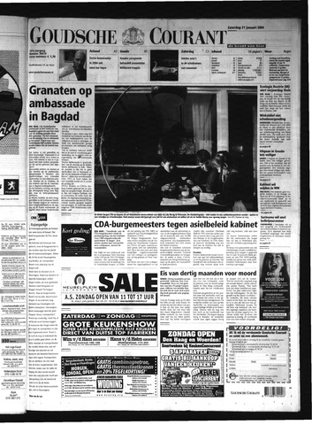 Goudsche Courant 2004-01-31