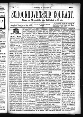 Schoonhovensche Courant 1896-12-05