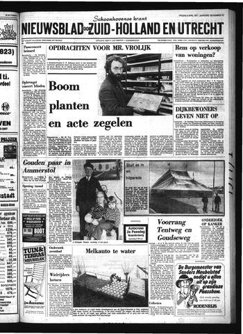 Schoonhovensche Courant 1977-04-08