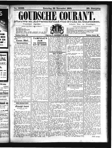 Goudsche Courant 1913-11-22